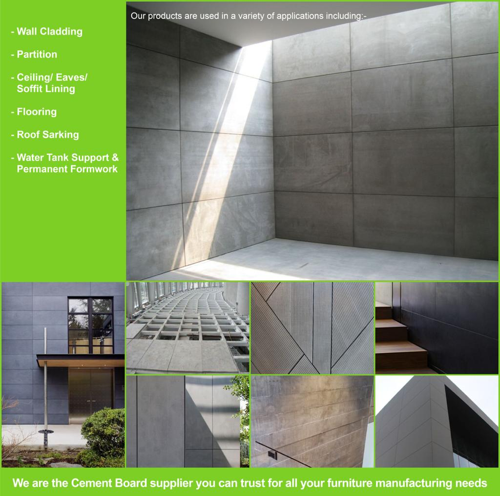 cement board products